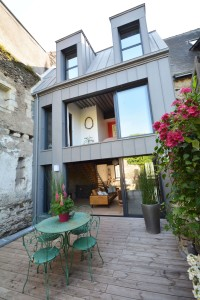 Construction de maison moderne Angers centre ville
