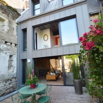 Construction de maison moderne Angers centre ville 42