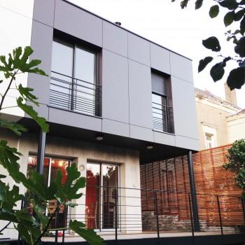Extension d'habitation avec création de terrasse en centre ville d'Angers 9