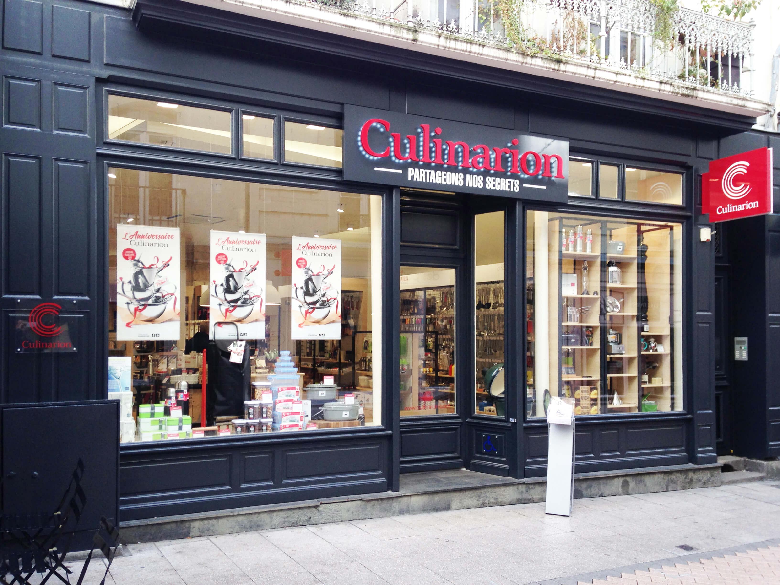 Rénovation d'un magasin dans le centre ville d'Angers 1