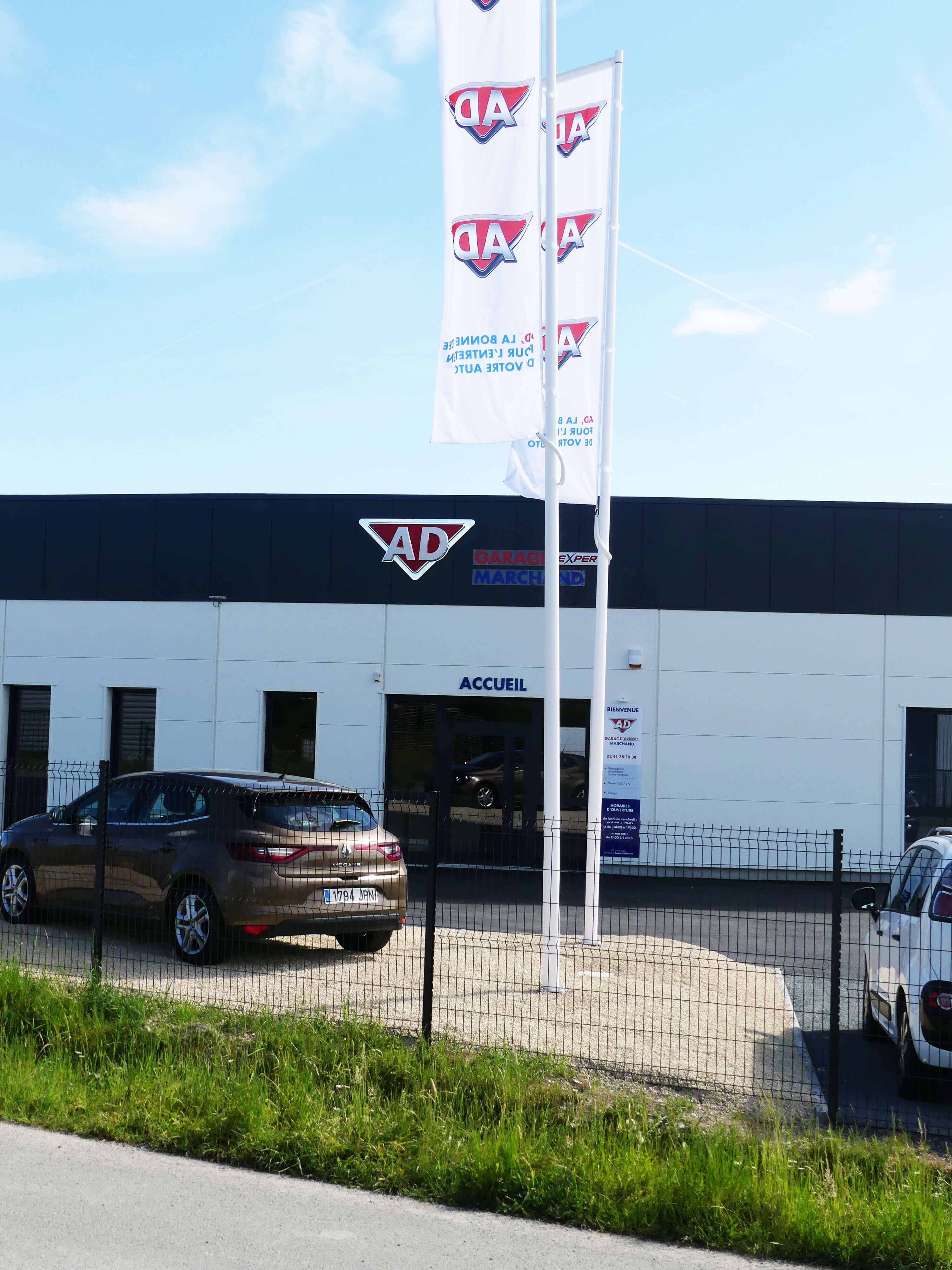 Hb architectures architecte et maitre d 39 oeuvre angers for Garage automobile angers