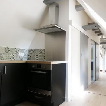 Rénovation d'appartements au centre ville d'Angers 1