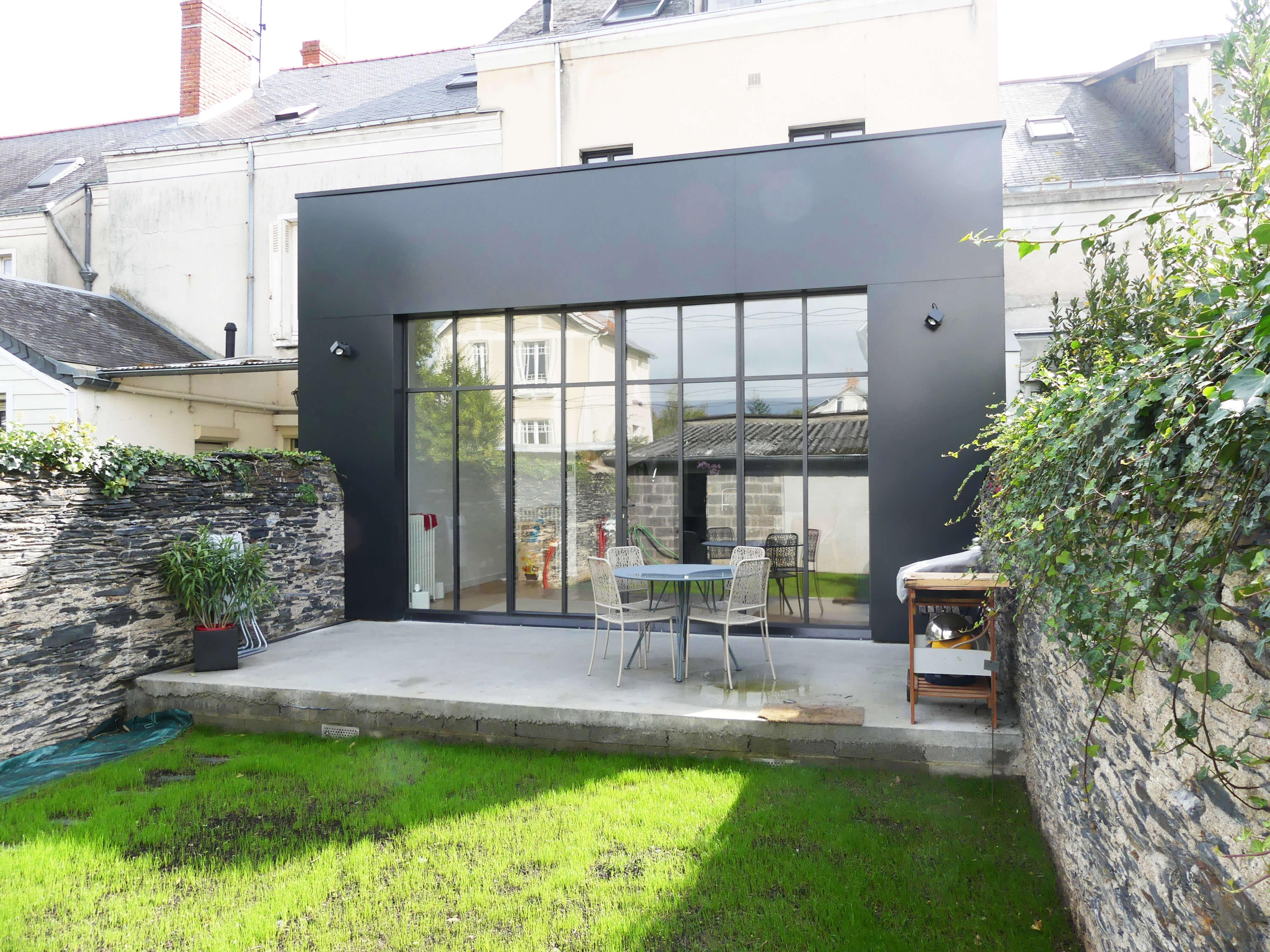 Rénovation maison avec extension type atelier, à Angers 12