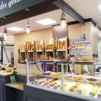 Création d'un espace boulangerie, snacking en GMS