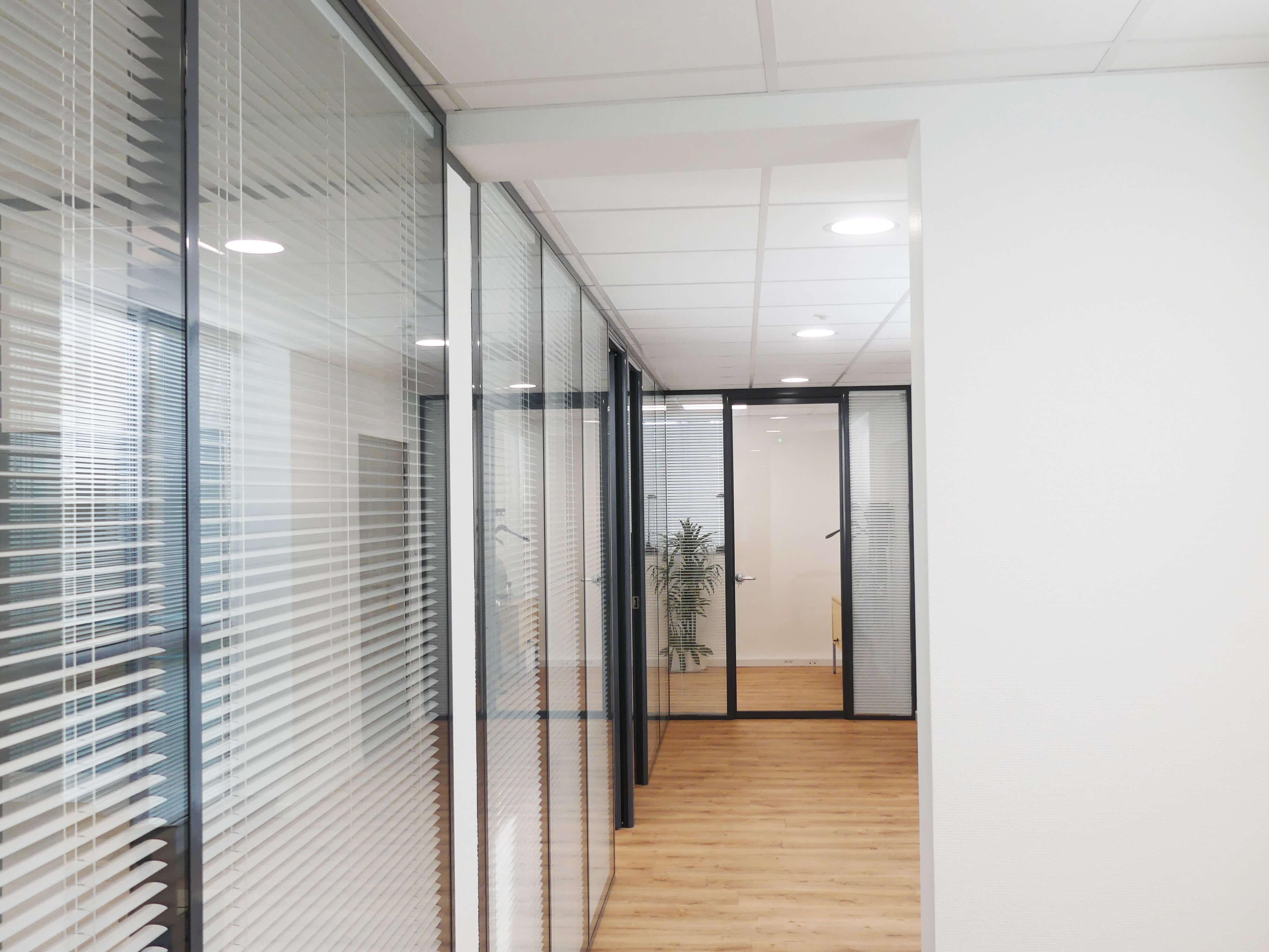 Rénovation d'un plateau de bureaux en centre ville