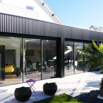 Rénovation maison avec extension sur jardin, à Angers 7