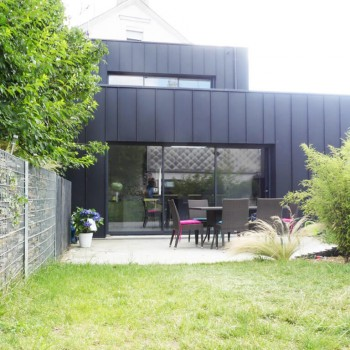 Extension de maison avec terrasse en centre ville d'Angers 5