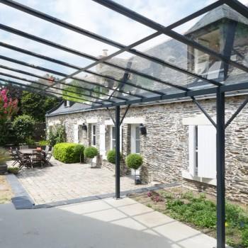 Extension et création d'une verrière extérieure, à proximité d'Angers 9