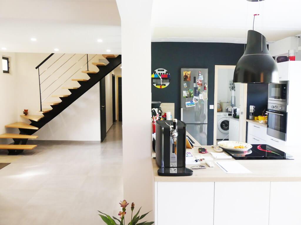 Rénovation d'une maison à proximité d'Angers