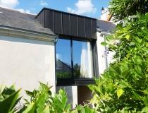 Rénovation et extension de maison en centre ville d'Angers
