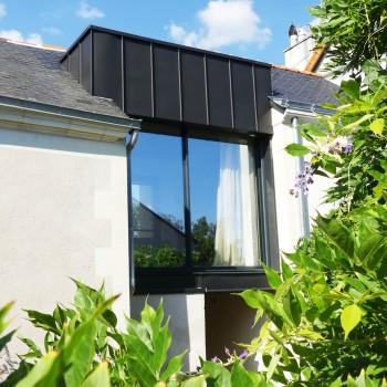Rénovation et extension de maison en centre ville d'Angers 5