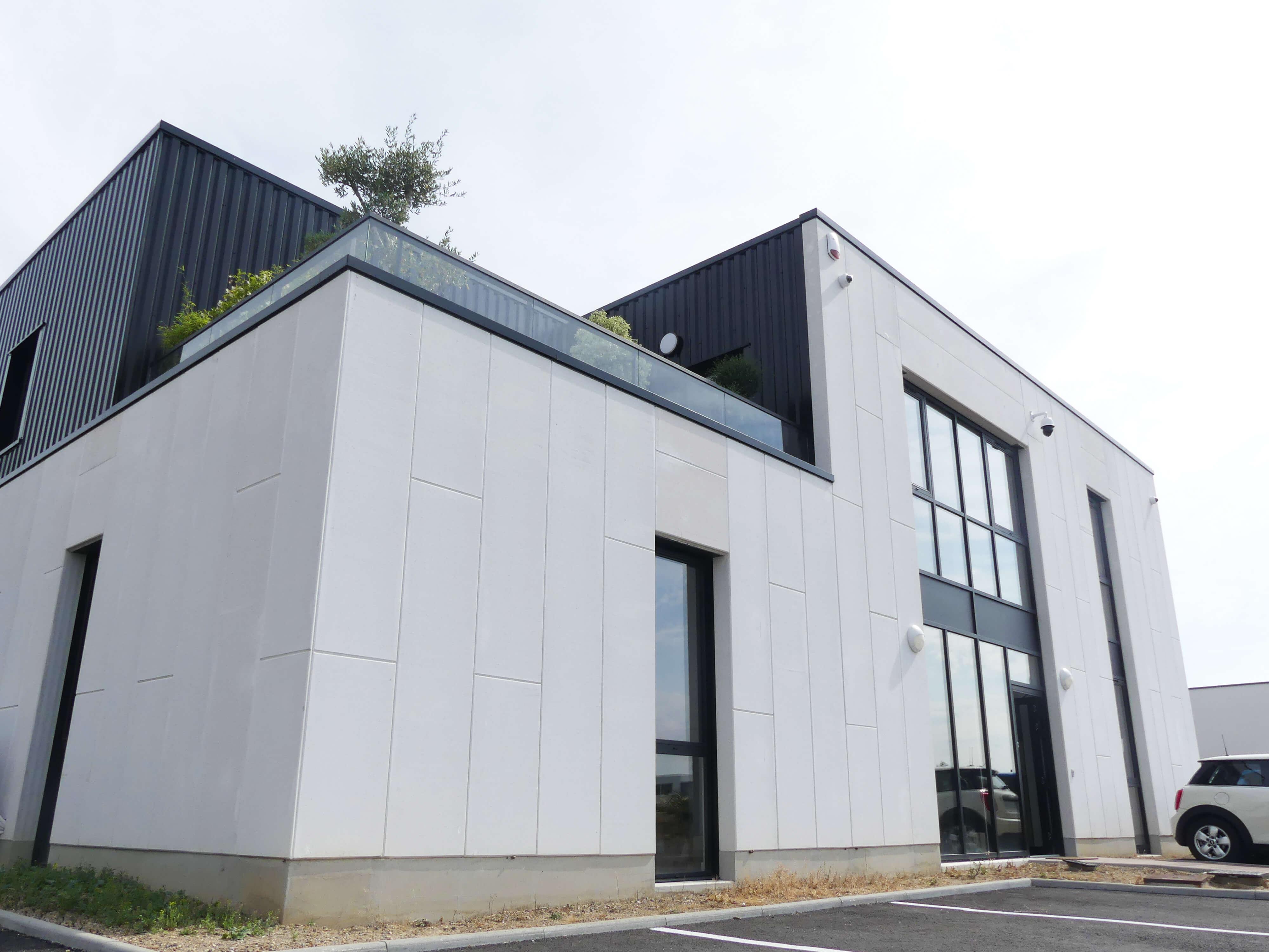 Construction d'un bâtiment industriel - Bureaux 6