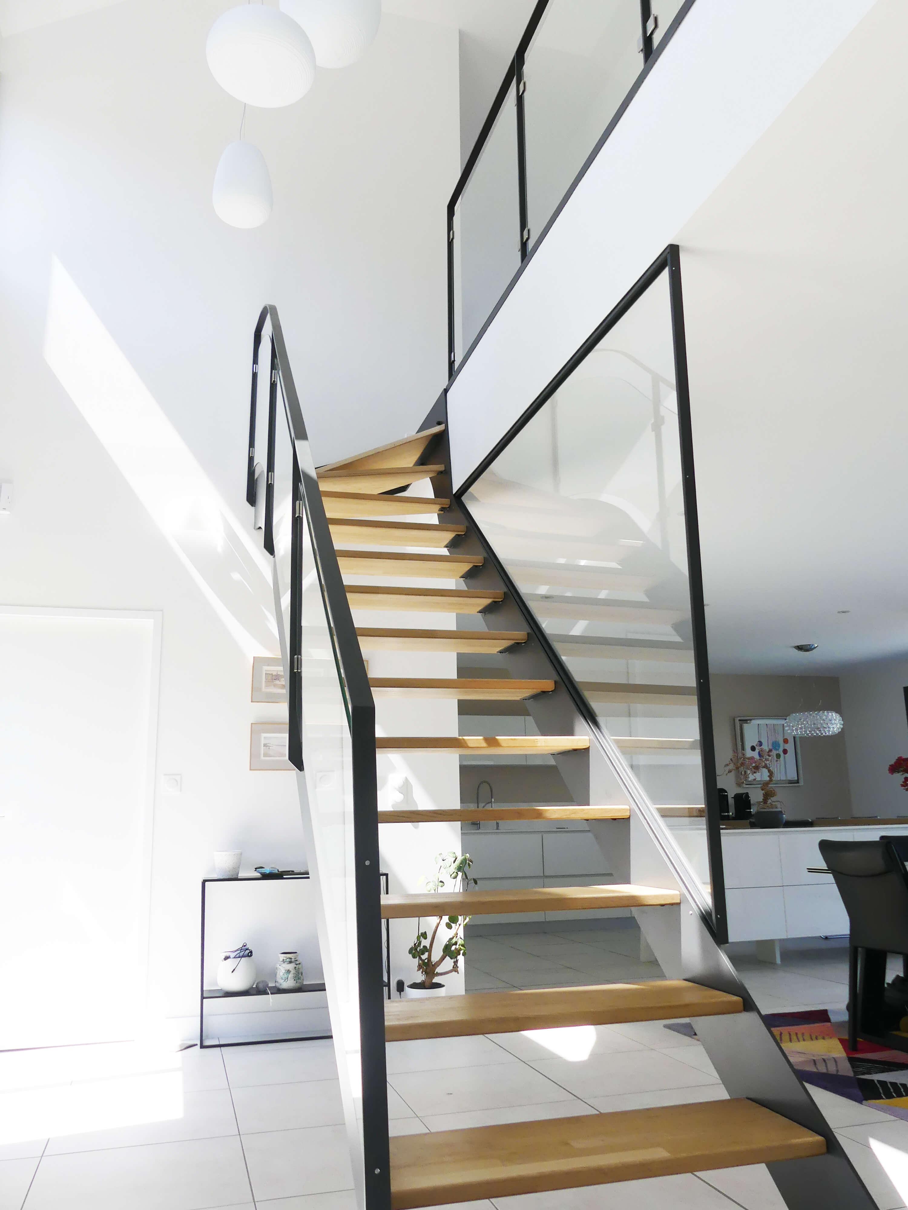 Construction maison moderne Angers 16