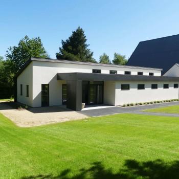 Extension d'une salle de sport en Mayenne