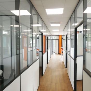 Rénovation d'un plateau de bureaux à proximité d'Angers