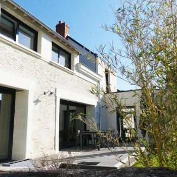 Rénovation maison avec extension sur jardin, à proximité d'Angers 3